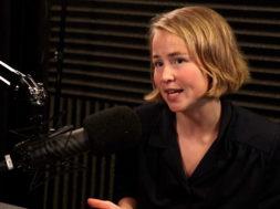 Anja Bakken Riise fra Framtiden i våre hender med Ole Christian Apeland i podcasten Lederliv