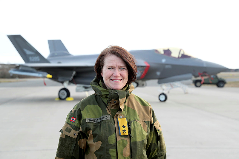 Tonje Skinnarland, Luftforsvaret