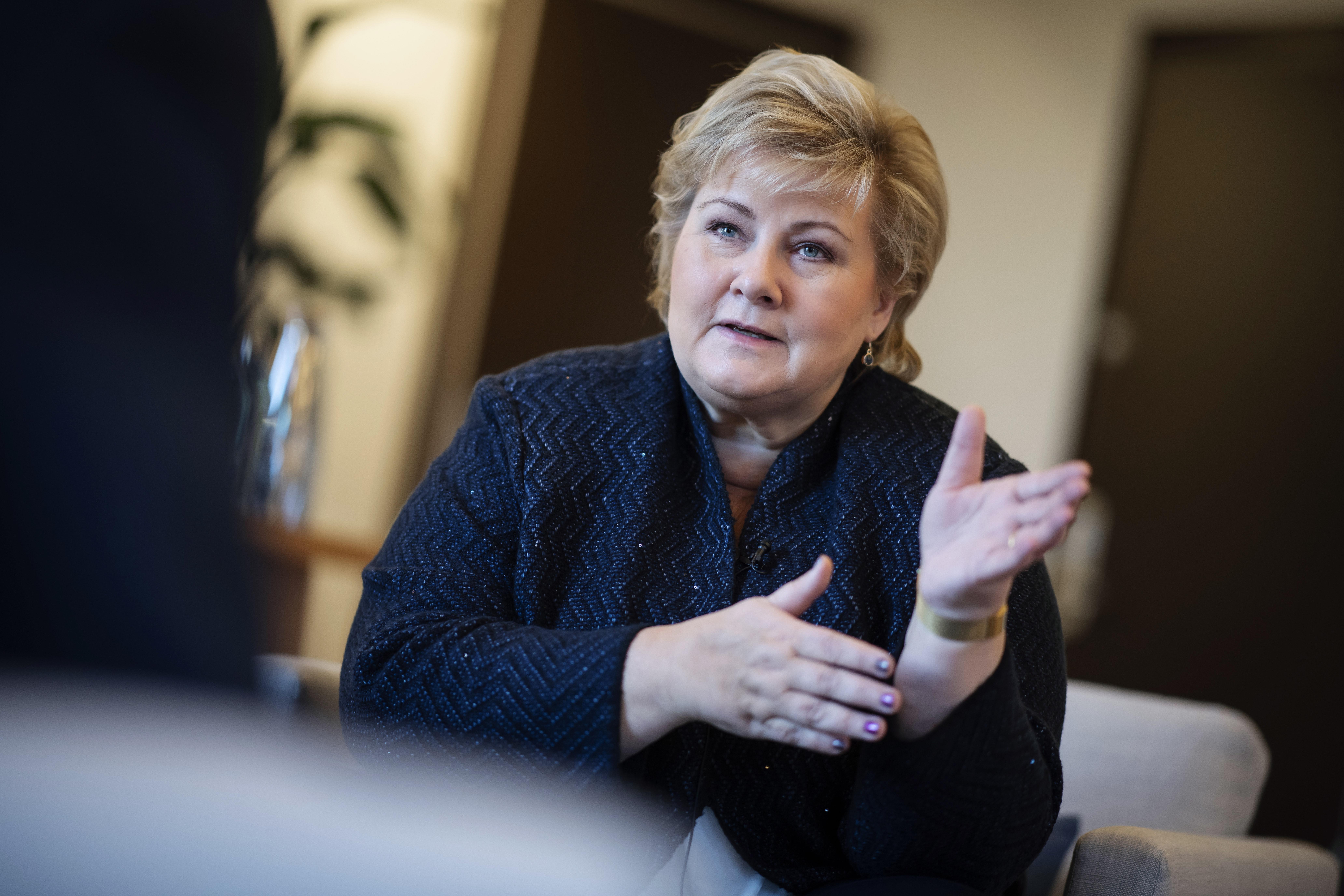 Erna Solberg, Statsminister
