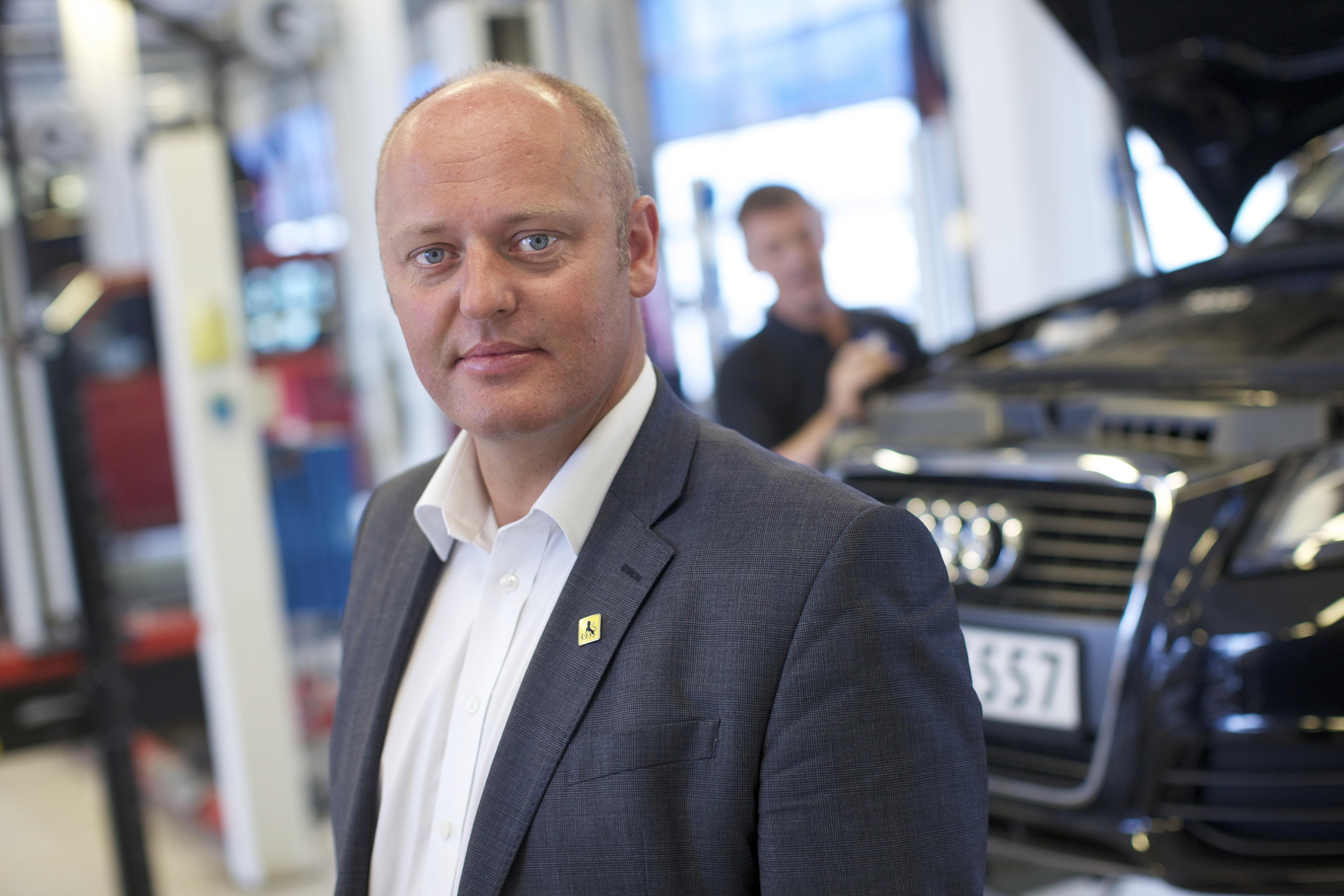 Stig Skjøstad, NAF
