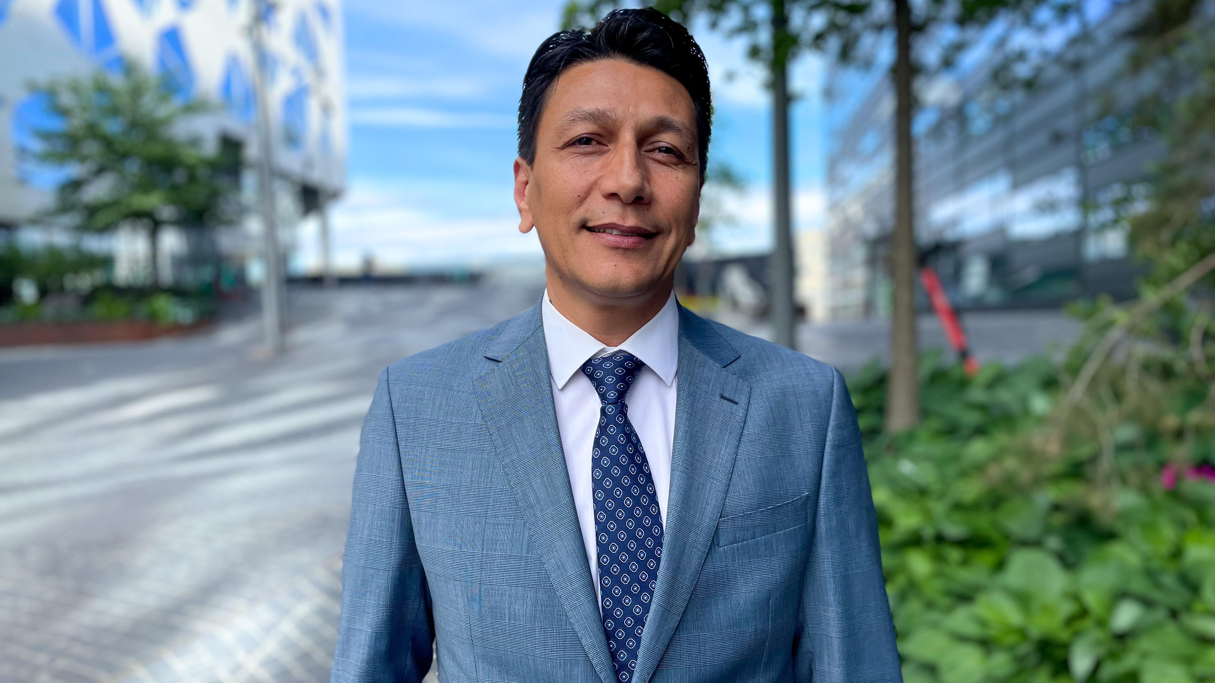 Ayub Tughra, bydelsdirektør Grorud bydel