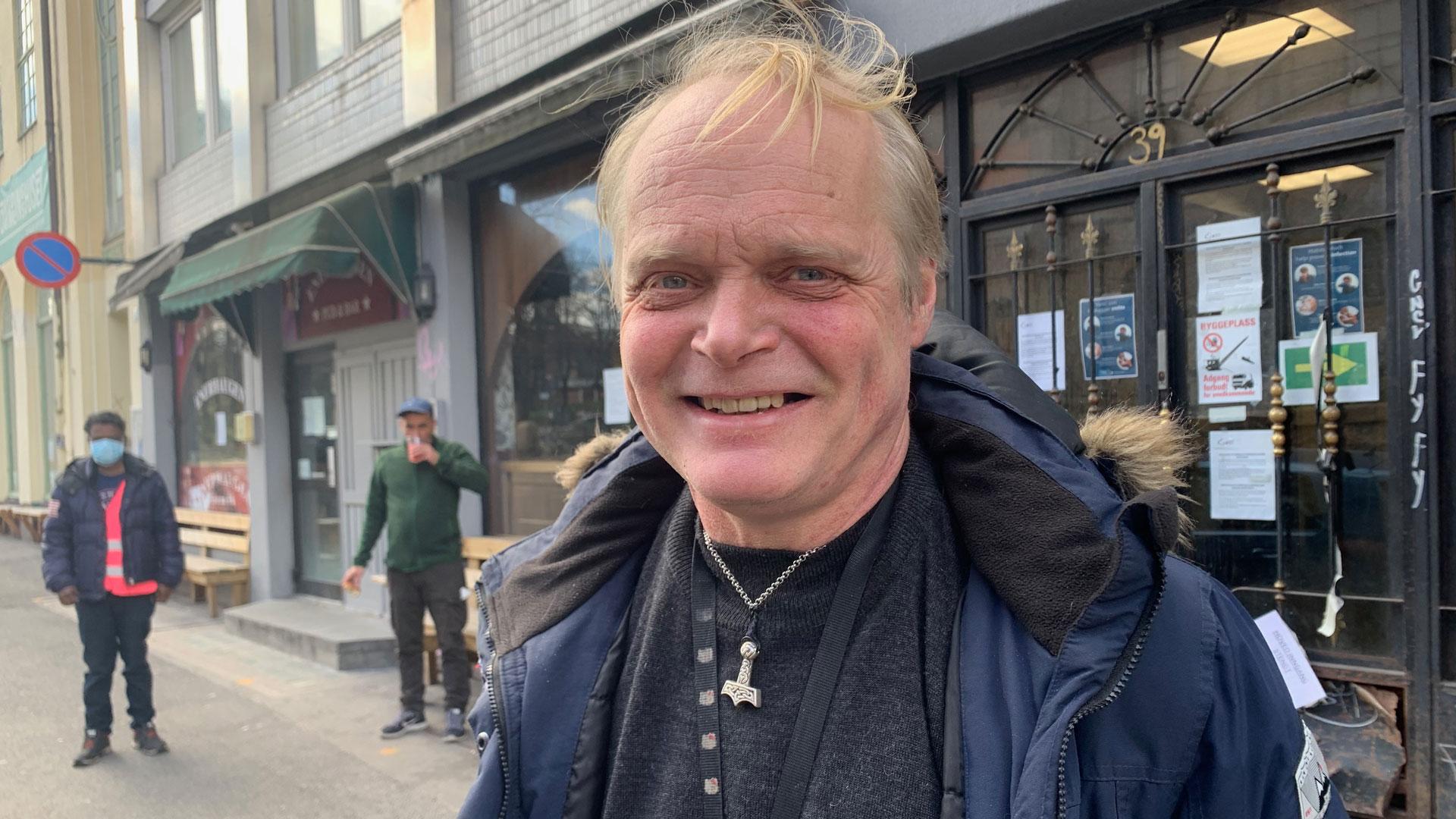 Sverre Rusten, Fattighuset i Oslo